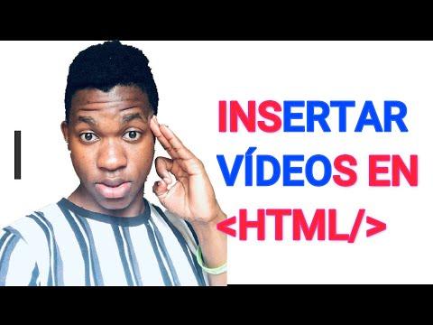 CÓMO PONER VIDEOS EN HTML (MEJOR FORMA)   CÓMO PONER VÍDEOS EN UNA PÁGINA WEB CON HTML    2020