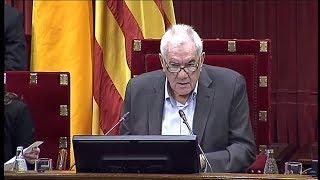 Discurso de Ernest Maragall en el Parlament de Catalunya