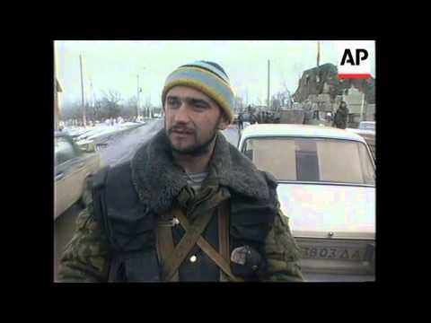 RUSSIA: CHECHNYA: RENEWED FIGHTING AROUND TOWN OF GUDERMES