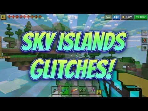 Pixel Gun 3D - Sky Islands Glitches! (2)