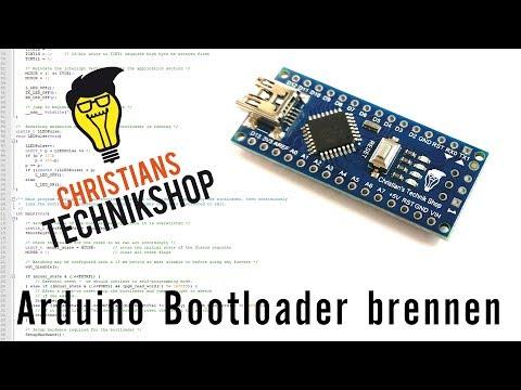 Arduino Bootloader Brennen Mit UNO -- Arduino As ISP --