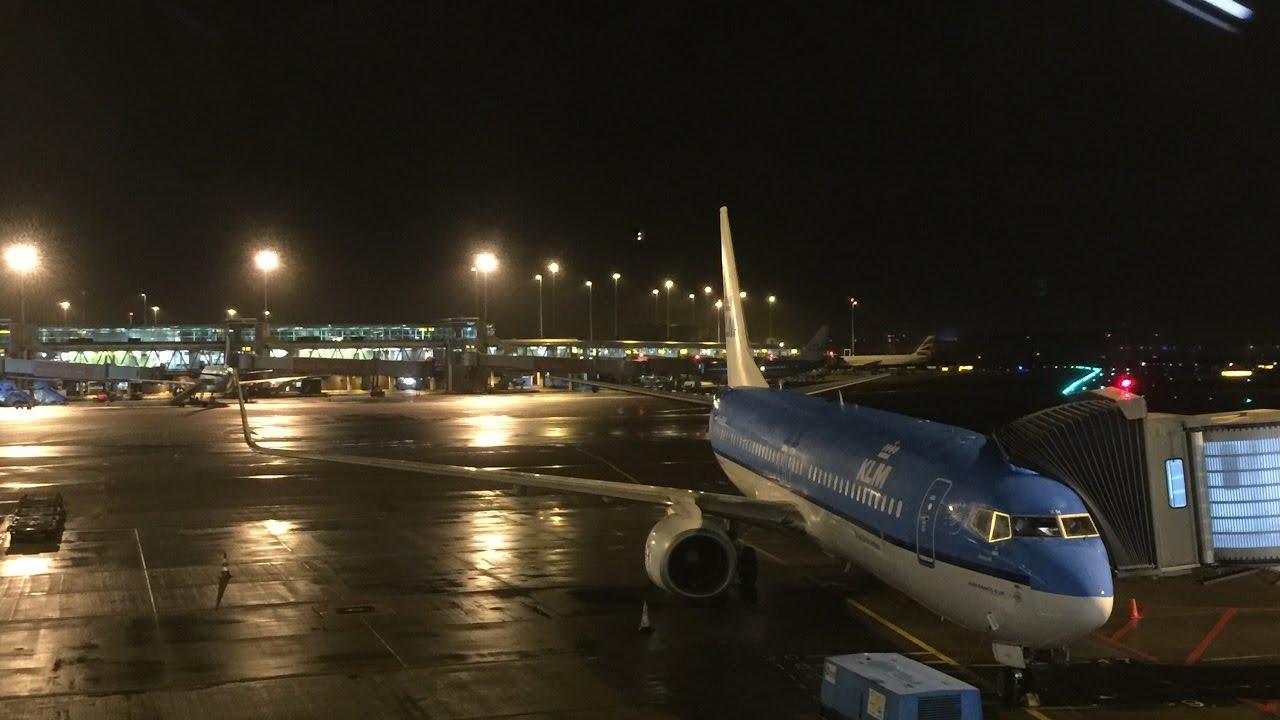 One Day Flight Round Trip KLM PH BXM BCA Boeing 737 800 AMS
