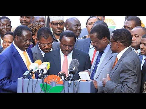 Raila Odinga's hard tackle on NASA co-principals