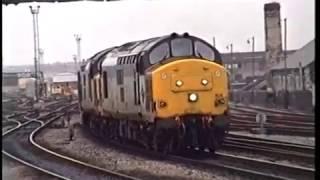 Classic British Rail  -  Cardiff  -  25th November 1992