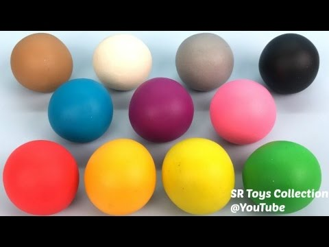 Thumbnail: Learn Colours and Numbers with Play Doh Balls Fun & Creative for Kids