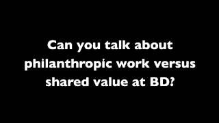 دينار بحريني غاري كوهين على خلق قيمة مشتركة في مجال الصحة العالمية