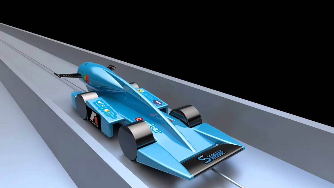 F1 In Schools World Finals 2013 L Falcon Team Official Car Youtube