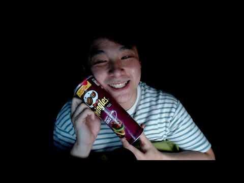 Crunchy Pringles ASMR ~