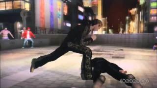 Repeat youtube video Yakuza: Black Panther's 2's Fight Scene Gameplay - TGS 2011 (PSP)