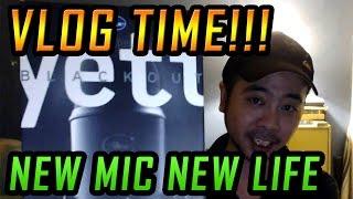 VLOG! Me & My New Mic! Blue YETI Unboxing & Testing!
