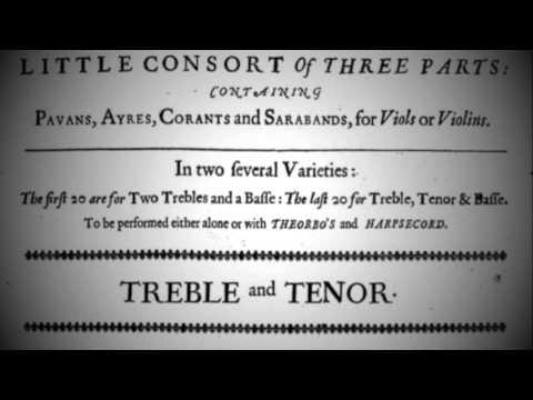 """Pavan - Matthew Locke (""""Little consort in three parts"""")"""