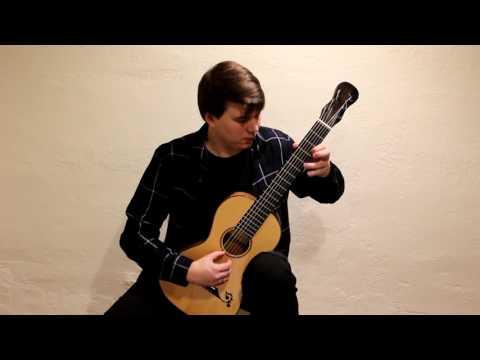 Matteo Carcassi Etude 10 from 25 Etudes op. 60 played by Patrik Kleemola