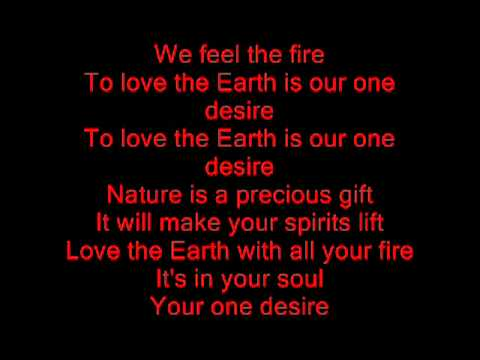 Earth, Wind, Fire and Air Lyrics!