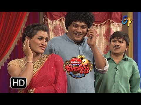 Rocket Raghava Performance | Jabardasth |  14th December 2017  | ETV  Telugu
