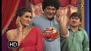Rocket Raghava Performance | Jabardasth |  14th December 2017  | ETV  Telugu