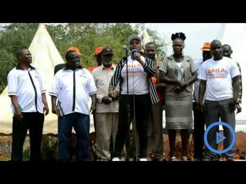Tharaka Nithi lady sensationally vows to campaign for Raila Odinga