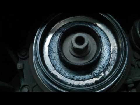 ОБРЫВ ШКИВА коленвала приводного ремня Hyundai Santa Fe 2.2 CRDi