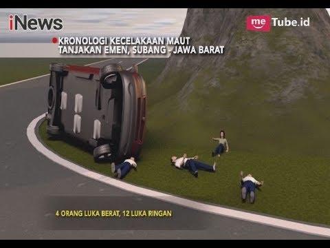 Inilah Kronologi Kecelakaan Maut Minibus di Tanjakan Emen - iNews Sore 12/03