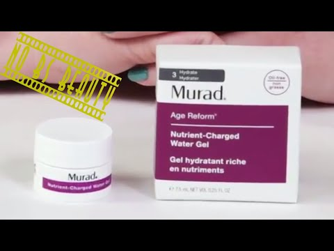 Murad Nutrient Charged Water Gel Review