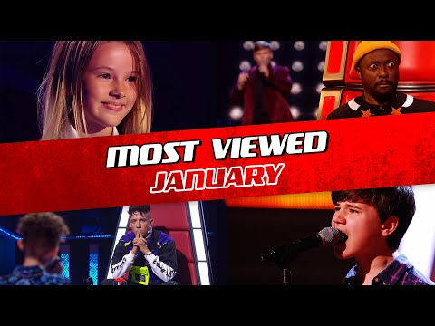 TOP 10   The Voice Kids: TRENDING IN JANUARY 2020