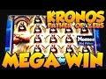 ★ HUGE MEGA WIN!!! ★ KRONOS FATHER OF ZEUS Slot Machine ★ TwinStar