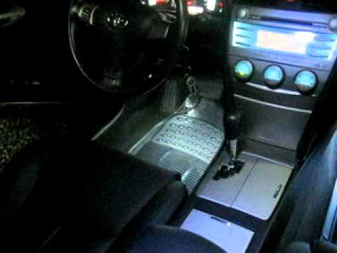Toyota Camry 2007/11 Led Interior Turin Motors   YouTube