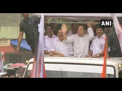 Rahul Gandhi's thanksgiving visit to Wayanad after LS victory from the seat