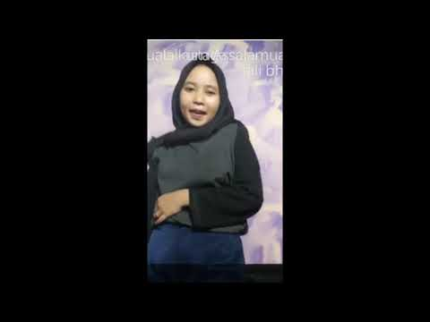 Jilbab Goyang Patah Patah
