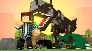 Minecraft : MEUS DINOSSAUROS ME ODEIAM !! - ARK CRAFT SURVIVAL #26