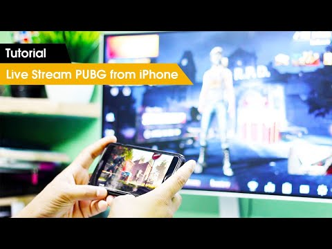 How To Live Stream PUBG Mobile From IPhone [Hindi]