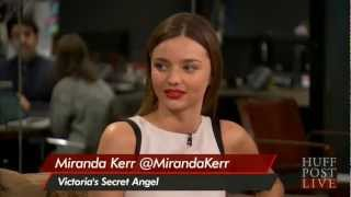 Supermodel Miranda Kerr HuffPost Live - Interview