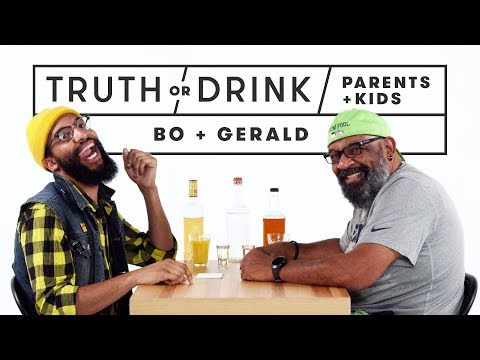Parents & Kids Play Truth or Drink Bo & Gerald  Truth or Drink  Cut