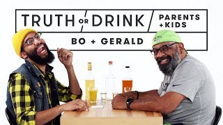 Parents & Kids Play Truth or Drink (Bo & Gerald)   Truth or Drink   Cut