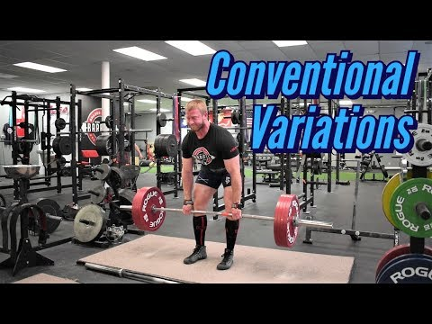 Variations for Stronger Conventional Deadlifts