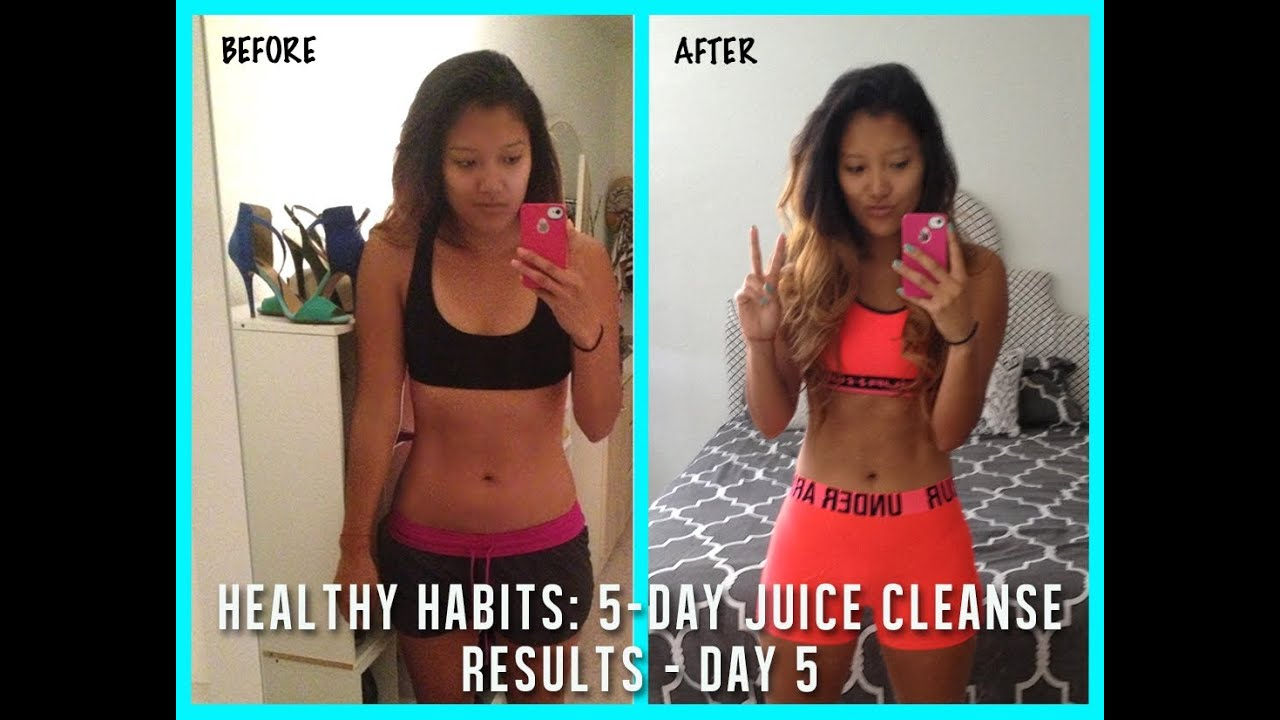 Healthy Habits: Juice Cleanse Day 5 & RESULTS! - YouTube