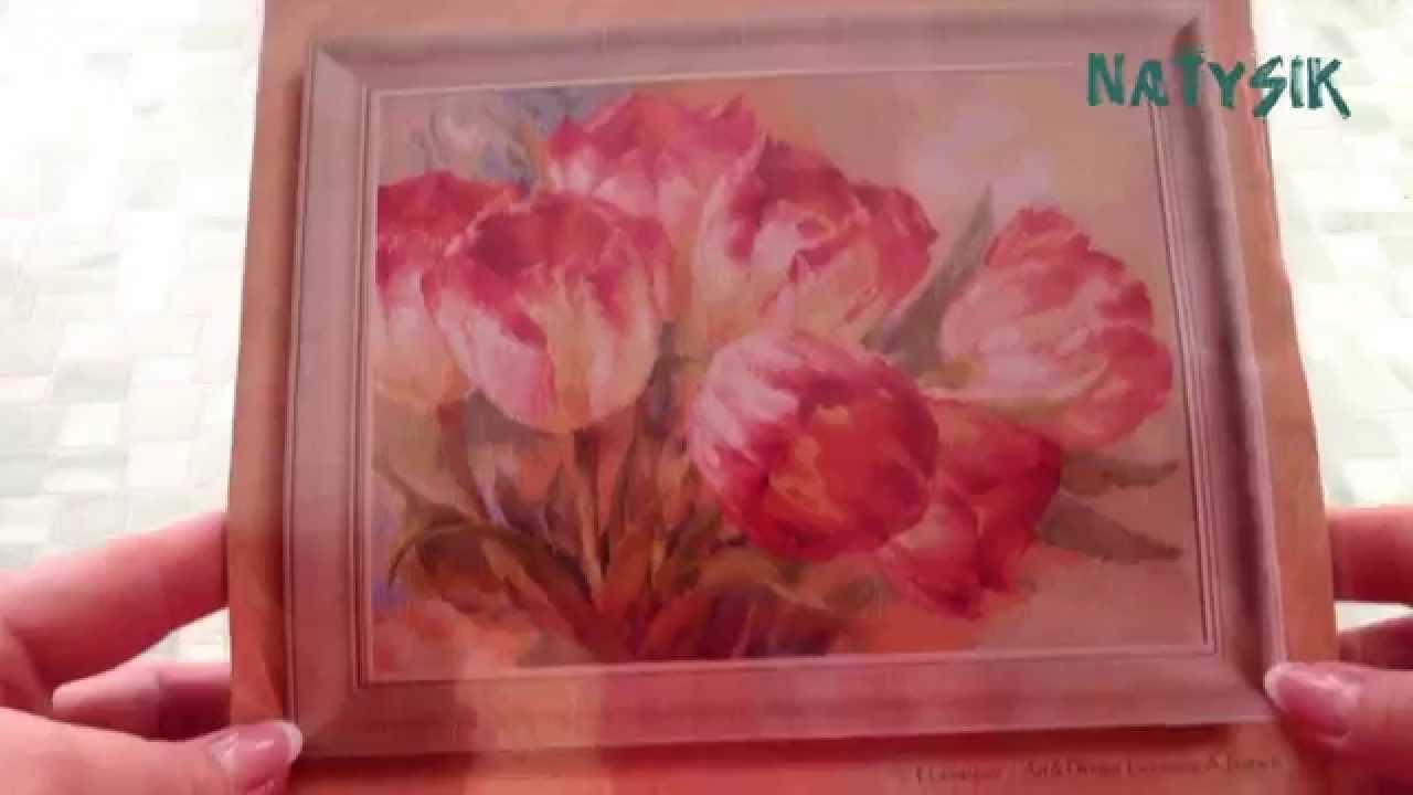 Алиса вышивка тюльпаны схема