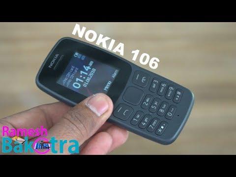 Nokia 106 Dual Sim Unboxing