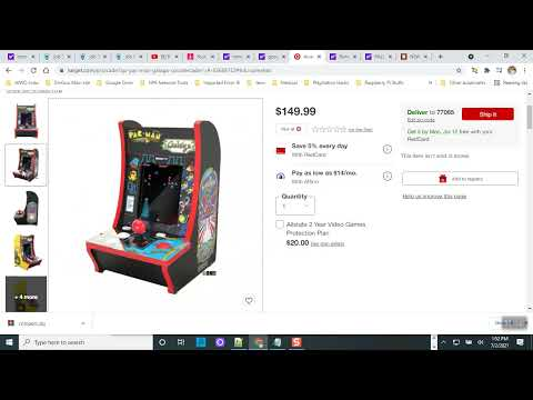 Third Gen Arcade1up Countercade Release on June 21, 2021 from Johnny Liu