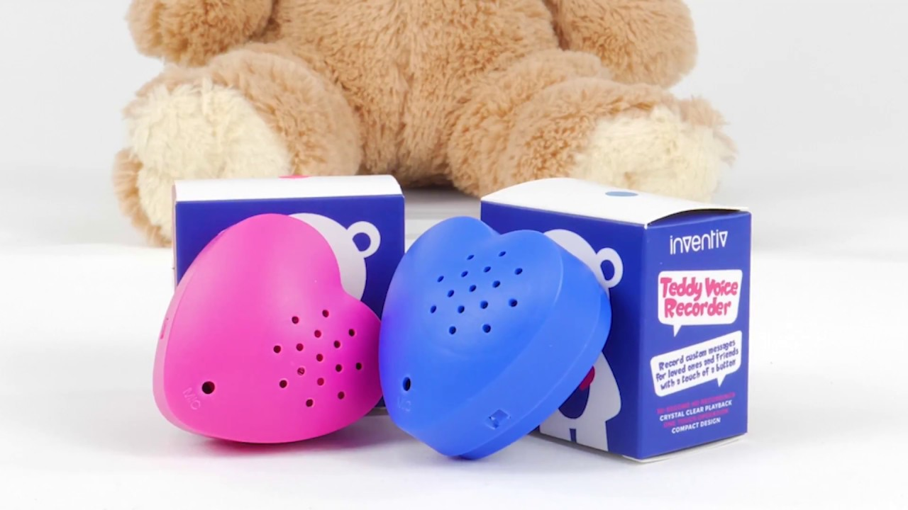 Inventiv 30 Second Heart Voice Sound Recorder Module For Plush Toy
