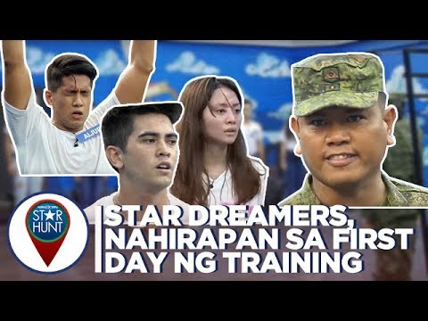 Camp Star Hunt: Star Dreamers, nahirapan sa simula ng military training