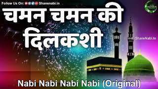 चमन चमन की दिलकशी Chaman Chaman Ki Dilkashi | Nabi Nabi Nabi Nabi Naat Original Naat