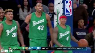Al Horford Highlights vs New York Knicks (15 pts, 5 ast, 3 stl)