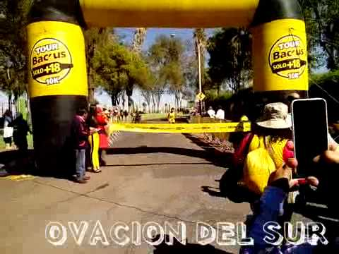 "Llegada de John Cusi - Nacional de Fondismo ""Tour Backus +18"" - 10/08/2014"