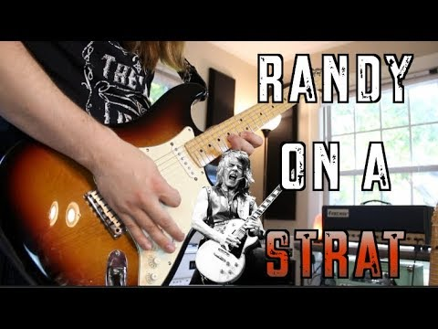 What If Randy Rhoads  Played A Strat?