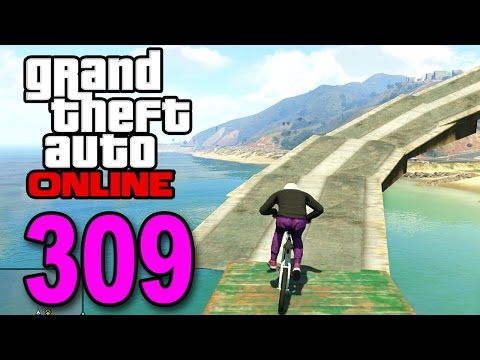 Grand Theft Auto 5 Multiplayer - Part 309 - Don't Fall In! (GTA Online Gameplay)