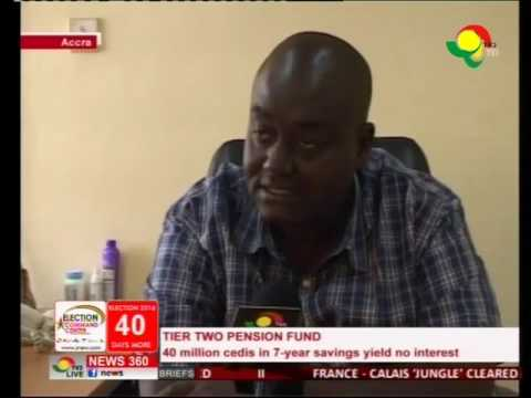 Pension fund, GHC 40m in 7 year savings yield no interest?  - 27/10/2016