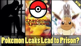 Pokemon Leaker Facing Legal Problems, Pokemon Dungeons and Dragons, Eeveelution Z Move