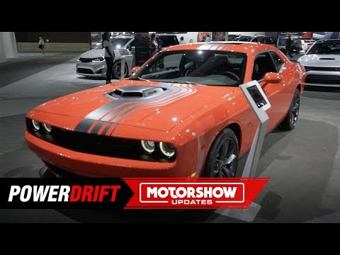2019 Dodge Challenger Hellcat Redeye : Dominic Toretto is proud : 2018 LA Auto Show : PowerDrift