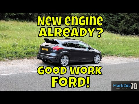 Ford Focus RS : day 213 : New engine fitted on schedule