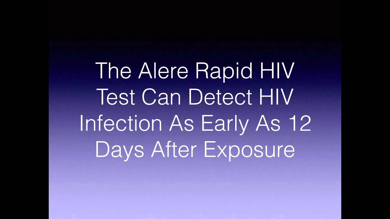 Rapid HIV Test Window Period